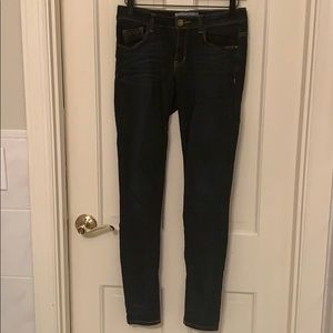 Jolt dark blue skinny jeans